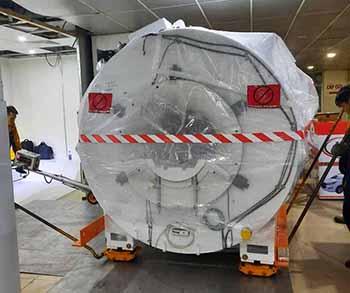Vận chuyển, di dời và lắp đặt máy cộng hưởng từ Sgina Creator (MRI)