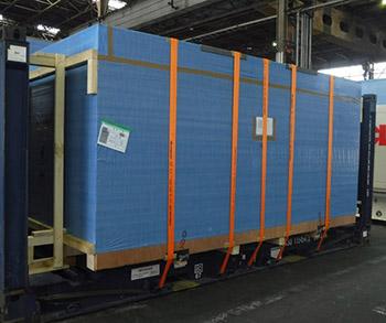 Vận chuyển máy dập 200 tấn Siêu Trường Siêu Trọng từ Nhật Bản về KCN Vĩnh Lộc