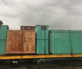 Vận chuyển hàng dự án cho nhà máy Chenglong Paper