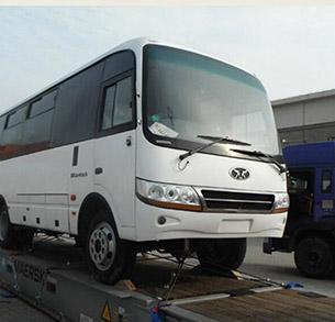 Vận chuyển xe Bus Quá khổ từ Trung Quốc về Việt Nam