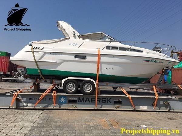 Thủ tục nhập khẩu cano du thuyền đã qua sử dụng trên thị trường hiện nay