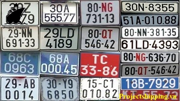 biển số xe các tỉnh