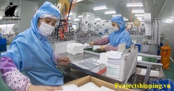 Thủ tục nhập khẩu khẩu trang y tế đến các khu vực