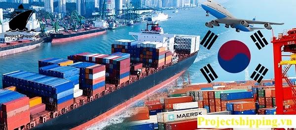 Vận chuyển hàng hóa từ Hàn Quốc về Việt Nam