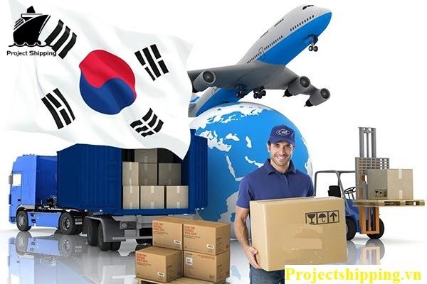 Quy trình vận chuyển hàng từ Hàn Quốc về Việt Nam tại PROJECT SHIPPING chuyên nghiệp