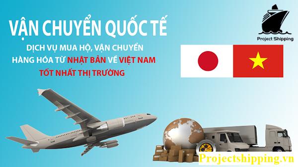 Vận chuyển hàng hóa từ Nhật Bản về Việt Nam