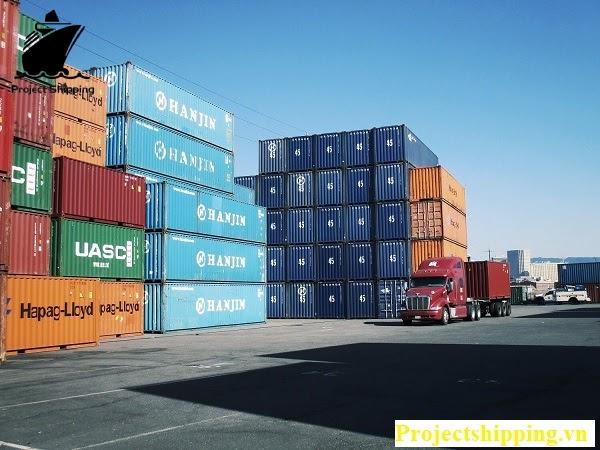Các dịch vụ vận chuyển của PROJECT SHIPPING đa dạng