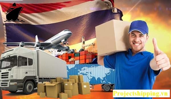 Vận chuyển hàng hóa từ ThaiLand về Việt Nam