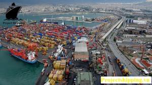 Vận chuyển hàng hóa từ Thổ Nhĩ Kỳ (Turkey) về Việt Nam