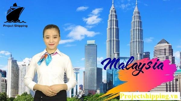 Vận chuyển hàng từ Malaysia về Việt Nam