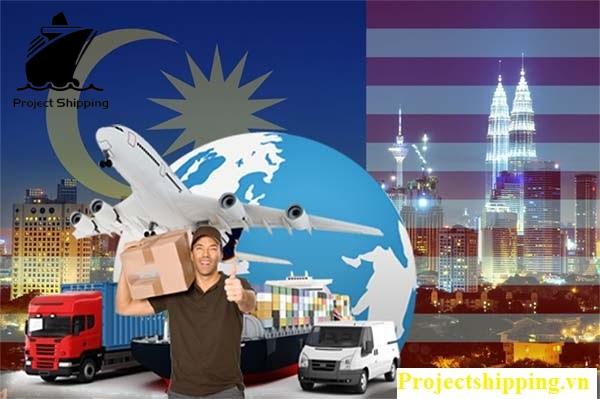 PROJECT SHIPPING chuyên nhận hàng hóa từ Malaysia về các tỉnh thành Việt Nam