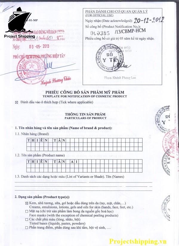 Thời hạn để doanh nghiệp nộp tờ khai Hải quan mỹ phẩm sẽ phải thực hiện trước ngày hàng đến cửa khẩu