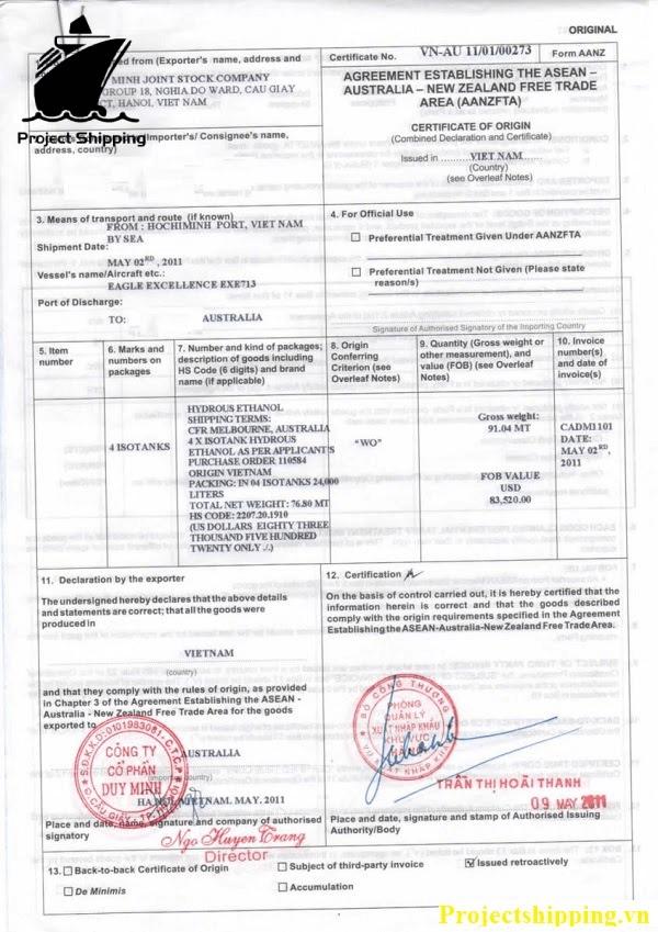 Doanh nghiệp cần phải thực hiện đăng ký giấy chứng nhận xuất xứ