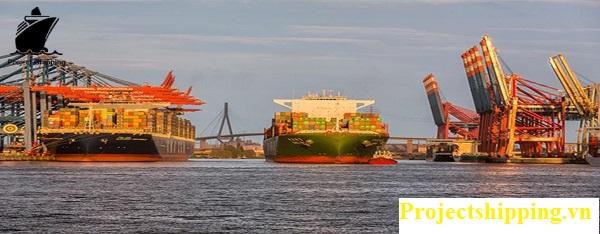 Vận chuyển hàng từ Đức về Việt Nam bằng đường biển