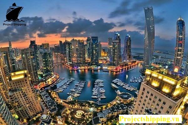 chuyển hàng từ Dubai về Việt Nam