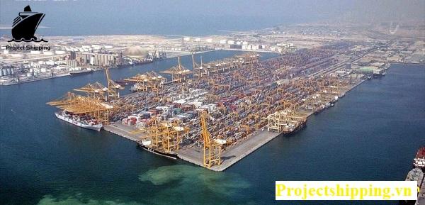 Cảng biển tại Dubai