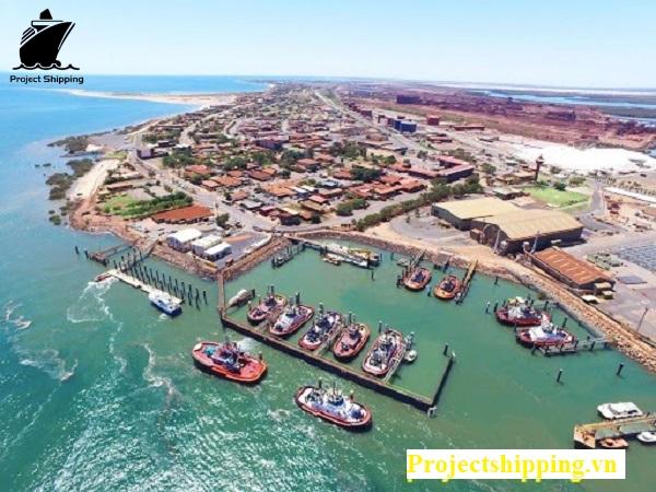 Cảng biển tại Úc