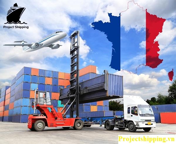 vận chuyển hàng hóa từ Pháp về Việt Nam