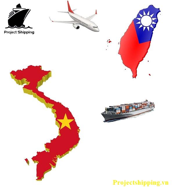 vận chuyển hàng hóa từ Việt Nam sang Đài Loan